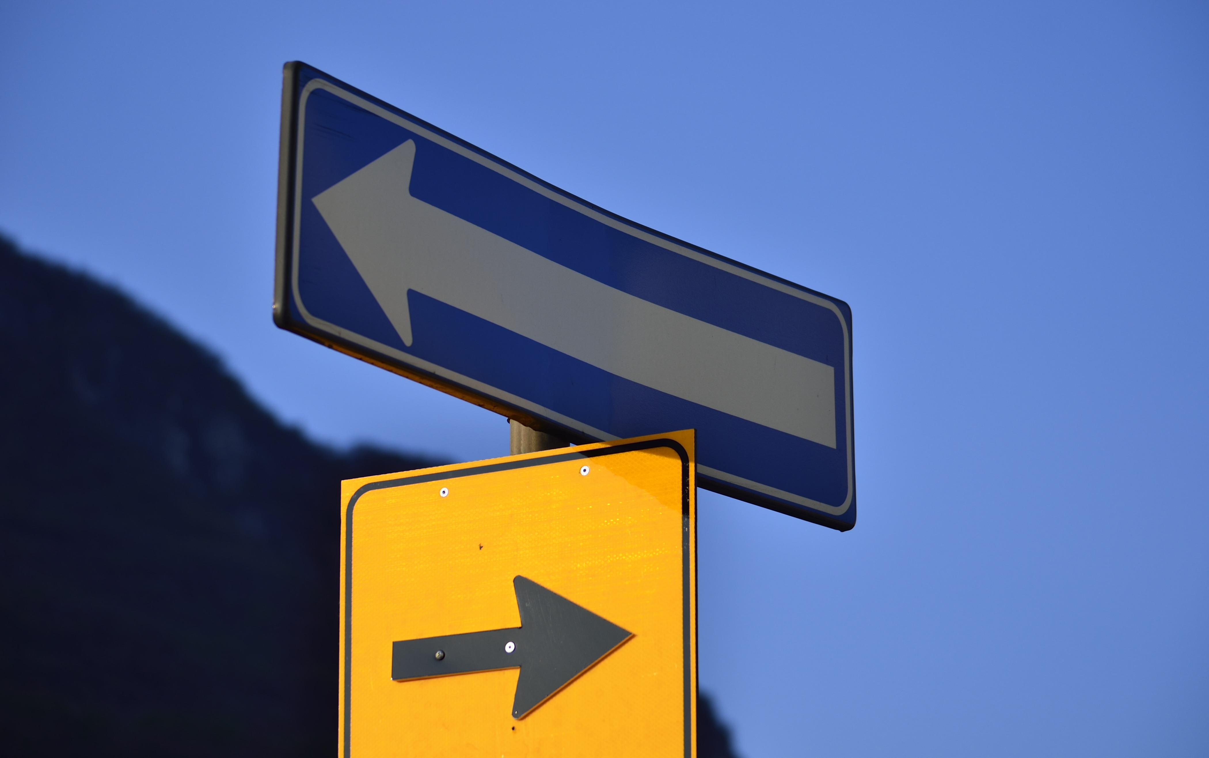 Destra o sinistra?