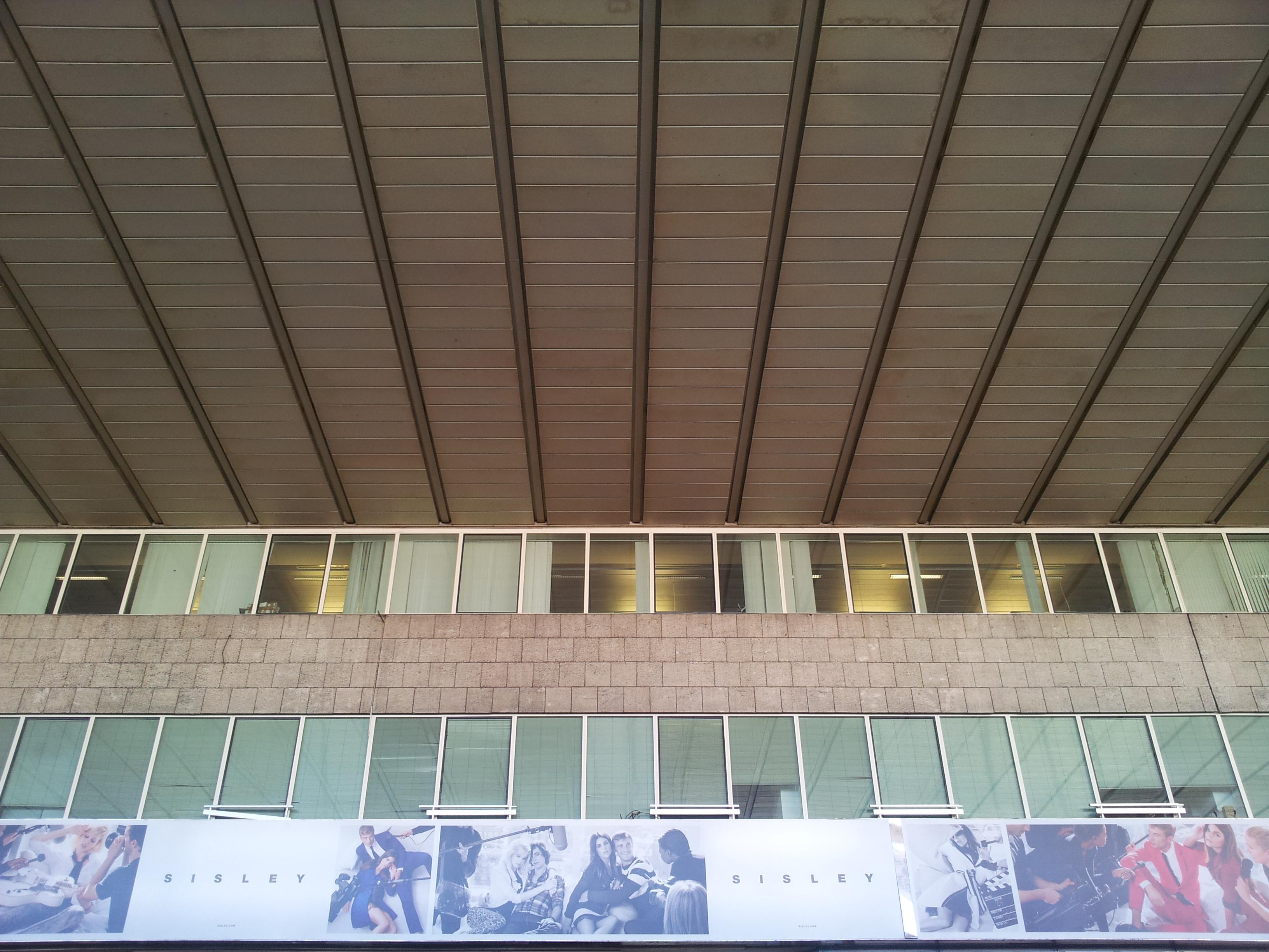 Pietro Nervi: copertura stazione ferroviaria Termini di Roma