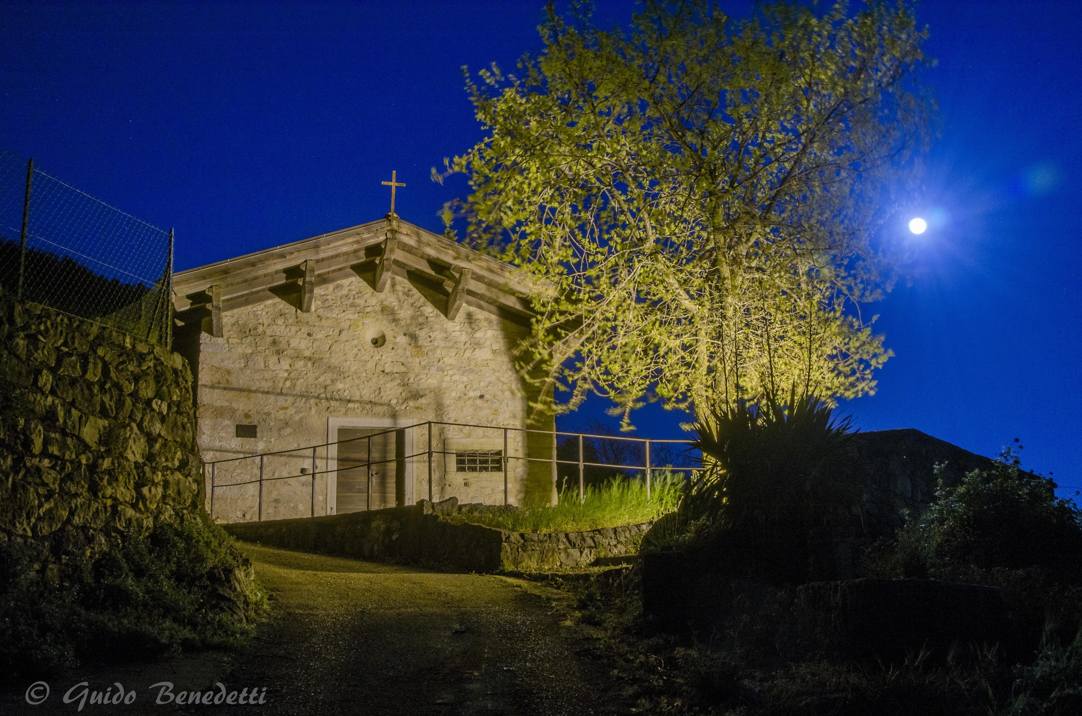 Chiesa di San Tomé di Gardumo a Pannone in Val di Gresta (Comune di Mori)