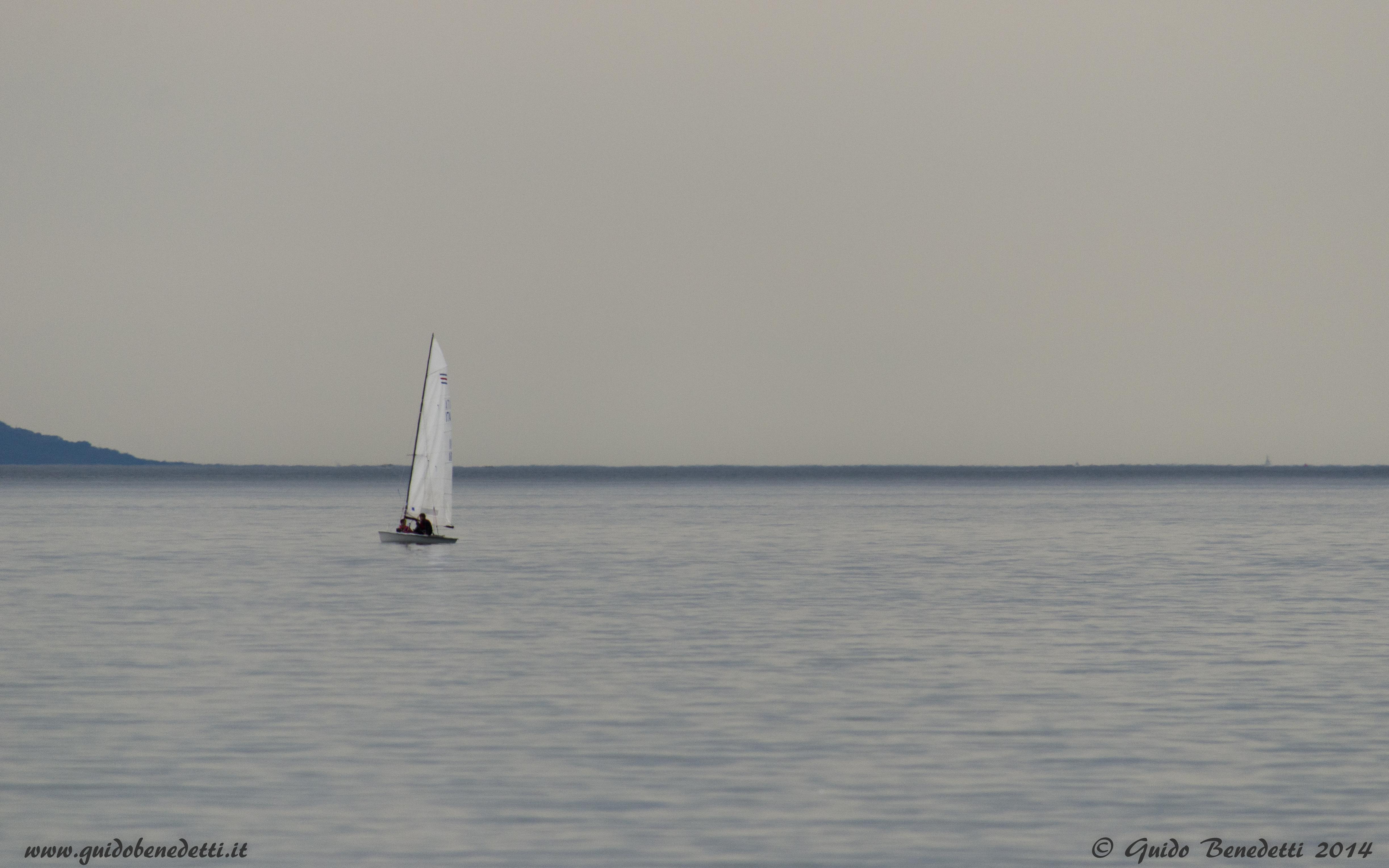 Veleggiando in solitaria – Colore