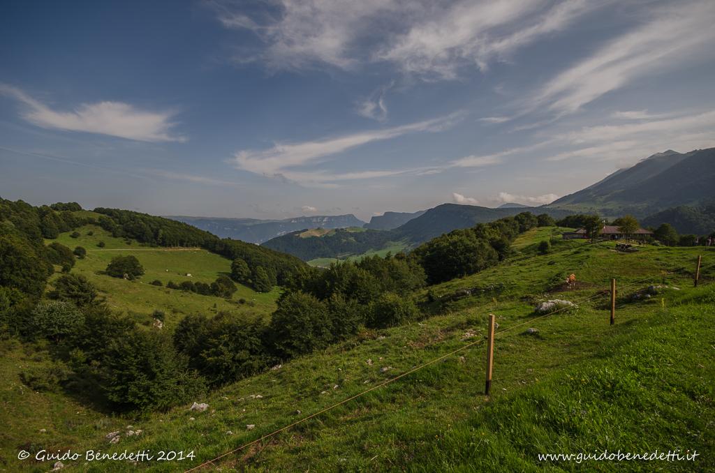 Panorama da Malga Fos-ce (Brentonico)