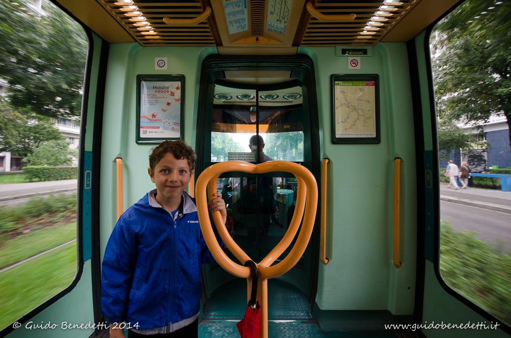 Sul tram a Strasburgo (F)