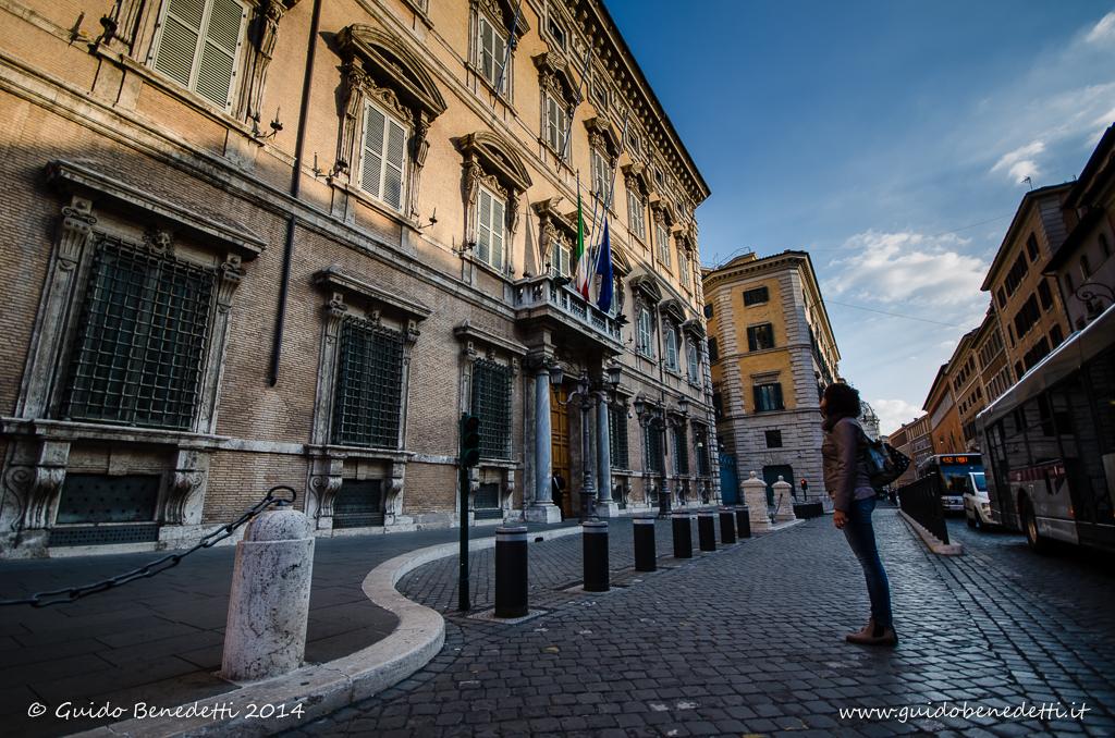 A Palazzo Madama (Roma)