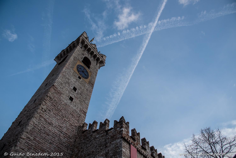 Torre civica a Trento (punto x)