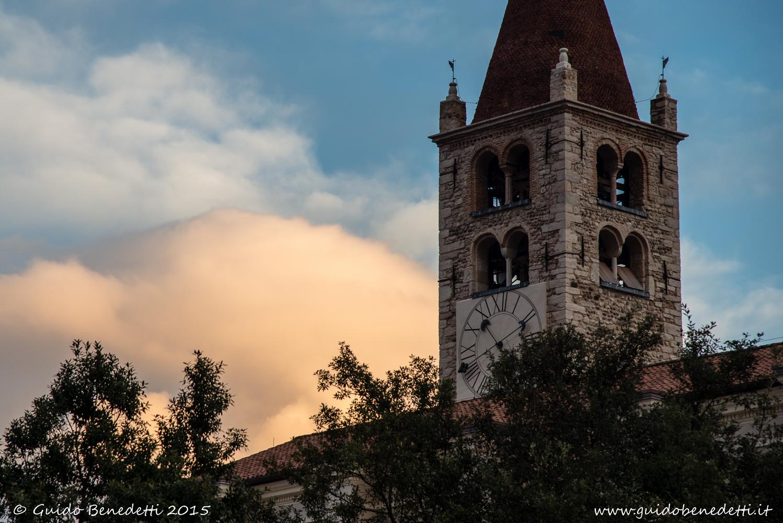 Campanile (della Chiesa Arcipretale Santo Stefano di Mori)