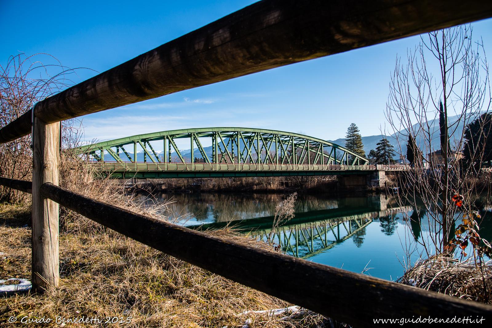 Ponte di Ravazzone sulla SS240 di Loppio e Val di Ledro