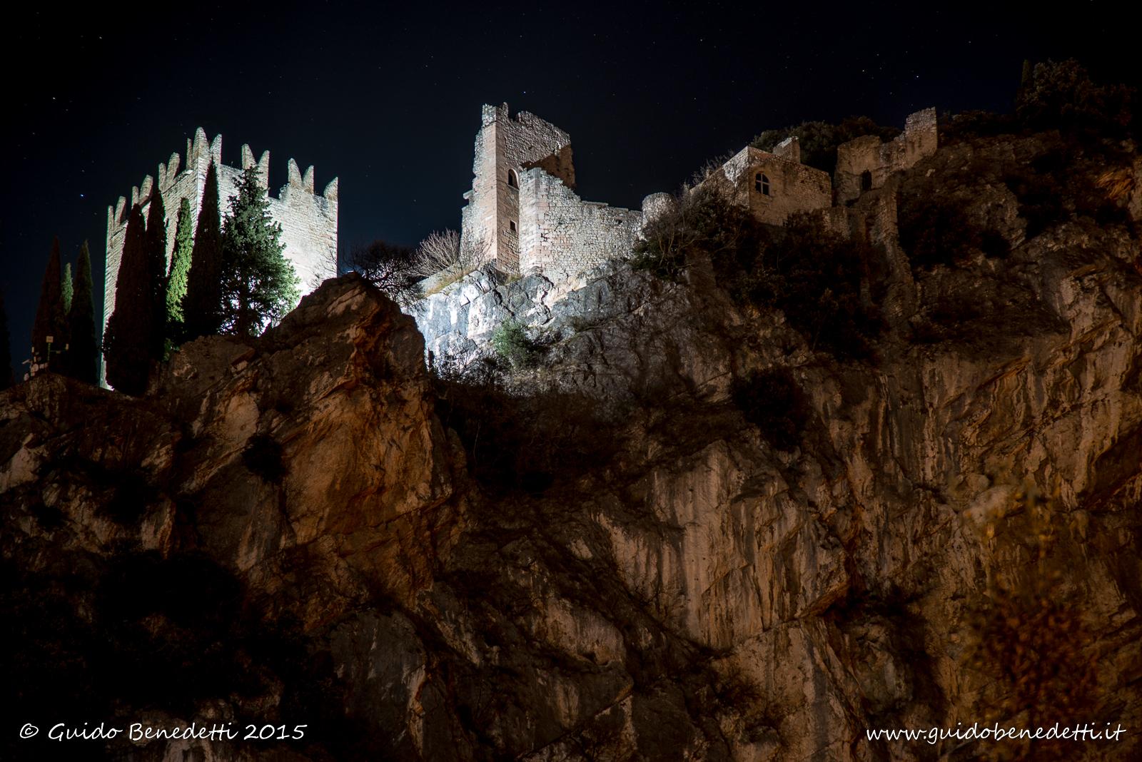 Castello di Arco by night