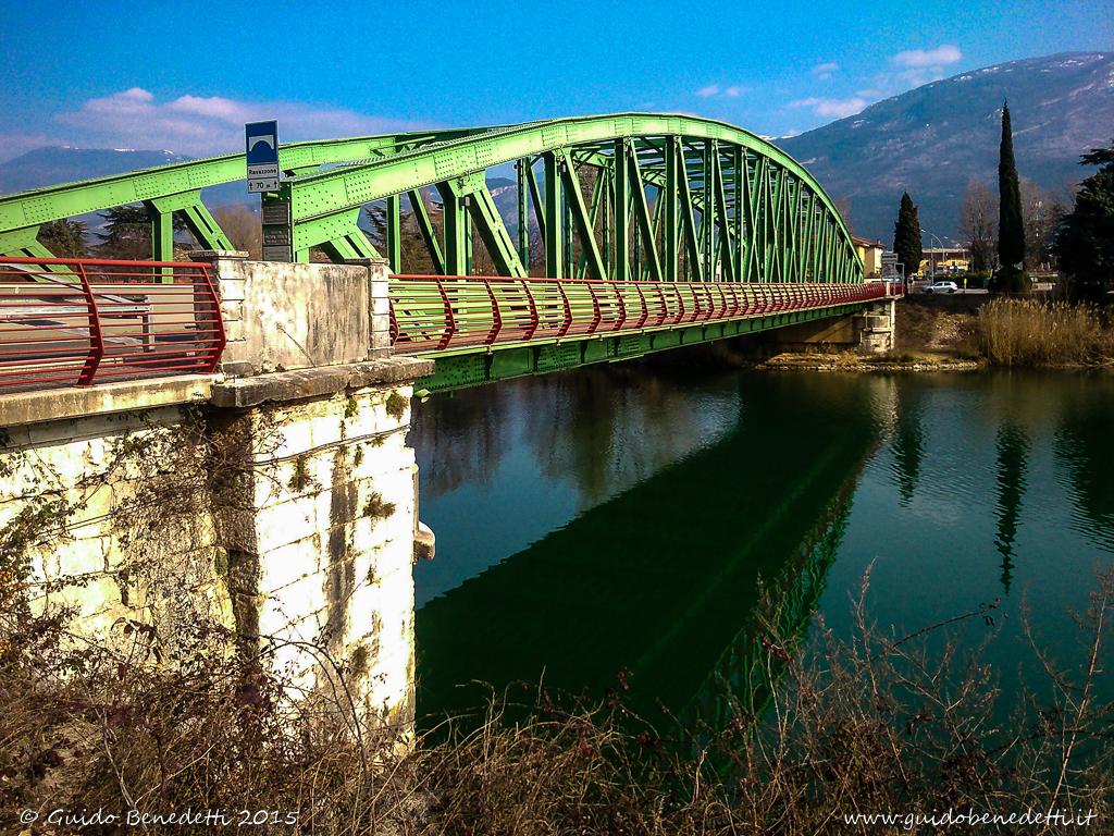 Pont de fer de Ravazom