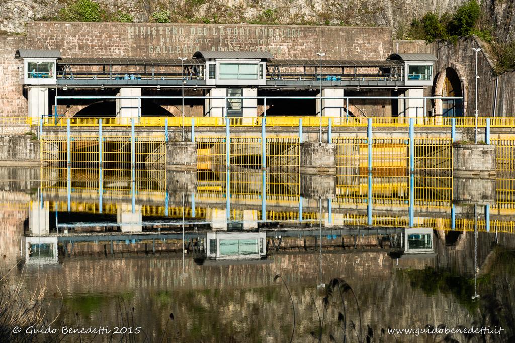 Imbocco della galleria idraulica Adige-Garda
