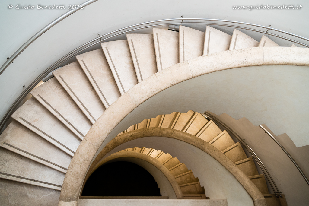 Spirale a scalini