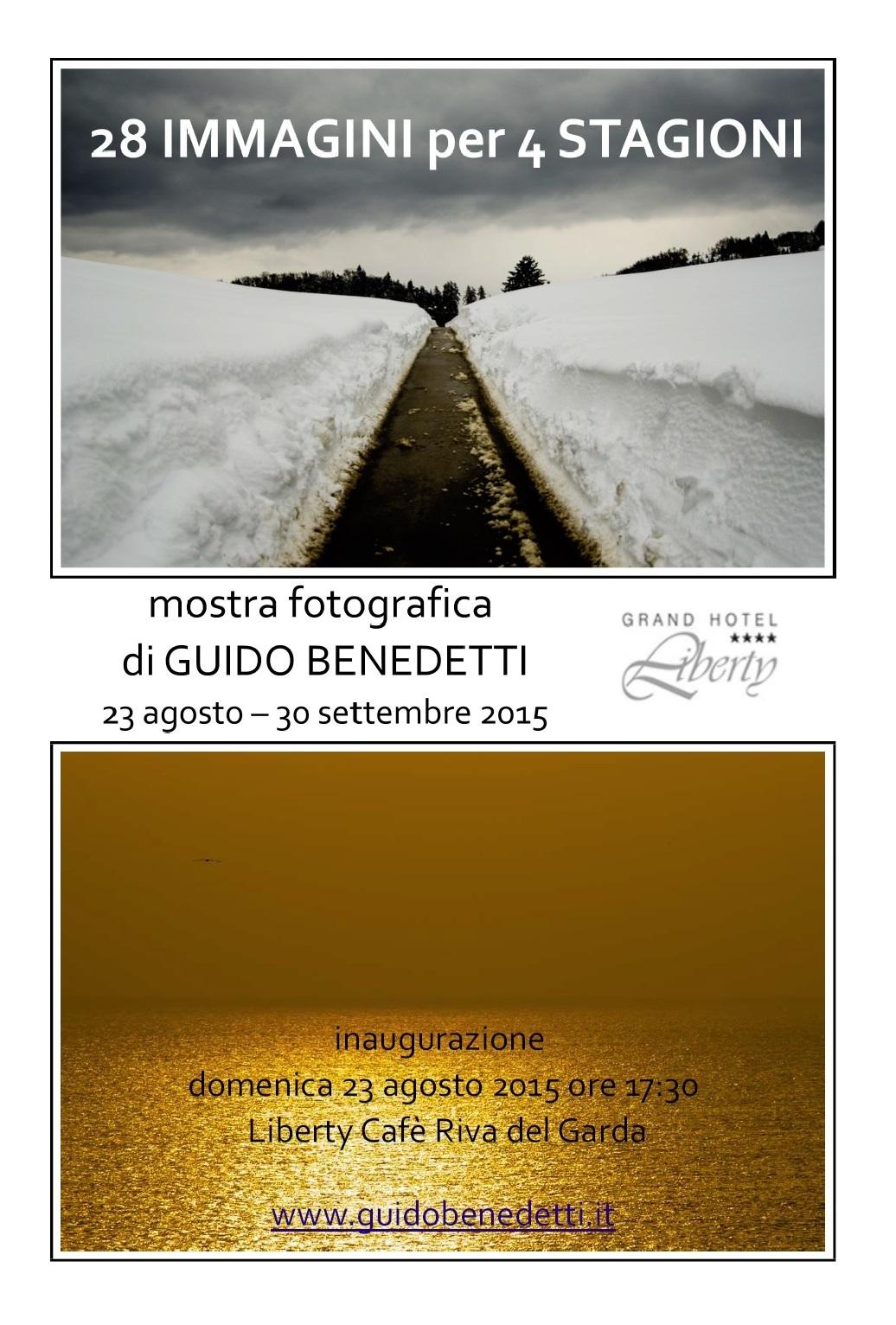 """""""28 IMMAGINI PER 4 STAGIONI"""" in trasferta a Riva del Garda"""