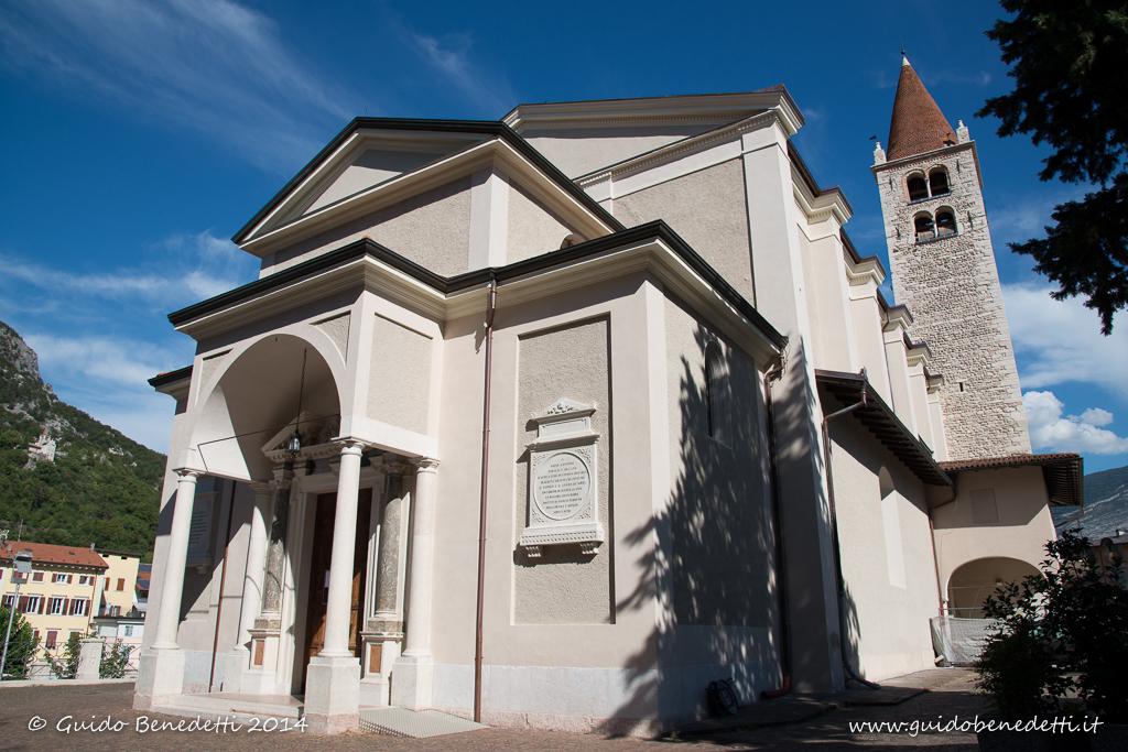 Chiesa arcipretale di Santo Stefano e santuario Santa Maria di Montalbano a Mori 2015