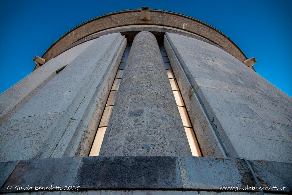 Ossario di Castel Dante al tramonto – Rovereto (TN)