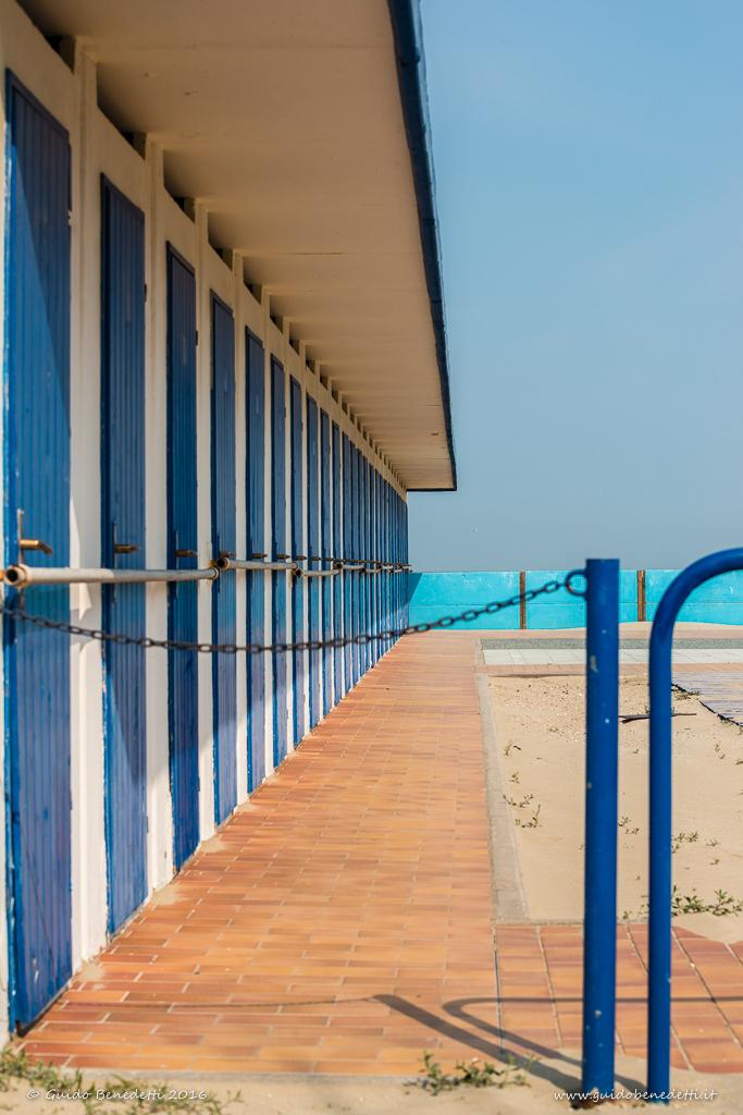 Tagliata di #Cervia – angoli di spiaggia nella zona delle colonie