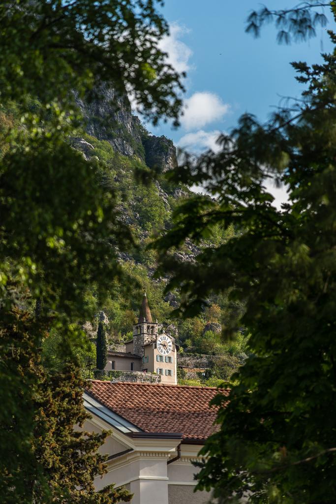 Il Santuario di Montalbano si eleva dalla Chiesa di Santo Stefano